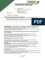 PLANIFICACION CURRICULAR nuevo curriculo° GRADO (1)