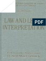 Atria Lemaîtr-2003-Law and Legal Interpretat.pdf