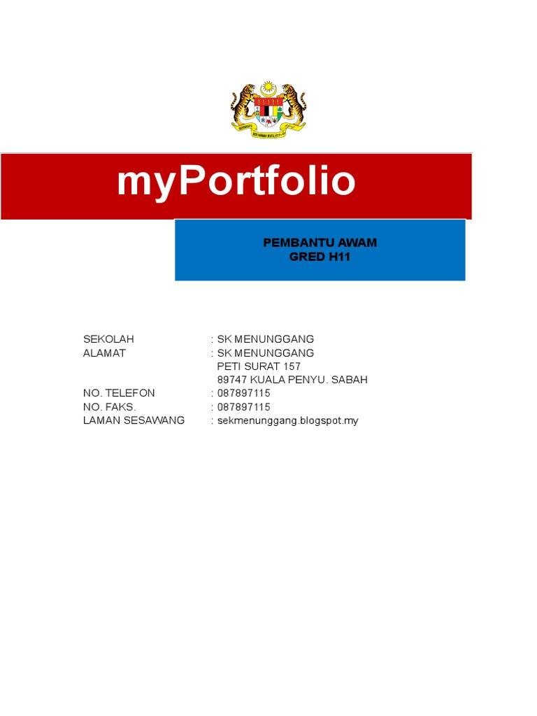 Myportfolio Gerald Pembantu Awam