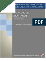 INSTALCIONES SANITARIAS