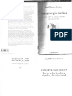 Antropología Medica Caps 1 y 2 Martinez Hernaez Angel