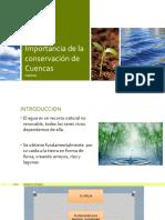 Conservación de Cuencas