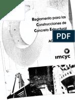 Reglamento Para Las Construcciones de Concreto Estructural A