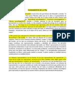 Fundamentos de La Pnl
