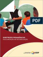 SEDF Diretrizes escolarização na socioeducação