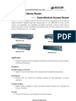 BDCOM1700 Series - Cost Effective Access Router