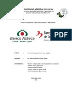 Formulación Banco Azteca y Banco de La Nación