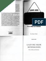Samir-Amin Ley Del Valor Mundializada(1)