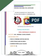 MATERIALES CERÁMICOS (MATERIALES DE CONSTRUCCIÓN)