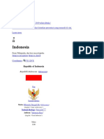 Indonesia di artikel wiki