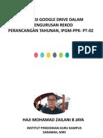 Haji Mohamad Zailani Jaya. Google Drive