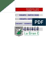 GRANULOMETRIA - Mezcla