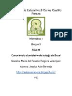 Ambiente Excel Jessica Axle Bermejo