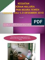 PAPARAN KEGIATAN PROGRAM MALARIA.pptx
