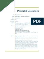 powerful volcanoes