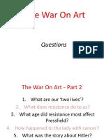 the war on art - part 2