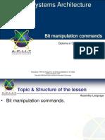 14 CSA Bit Commands