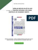 Como Comprar Bienes Raices Sin Usar Tu Propio Dinero Spanish Edition by Robert Shinn