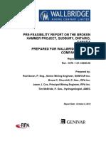 Wallbridge-Broken-Hammer-PFS-Report-SEDARen ingles.pdf