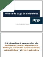 Política de Pago de Dividendos