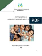 Pedoman Teknis Pelayanan Ramah Anak