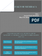 PPT-Faktor Membaca