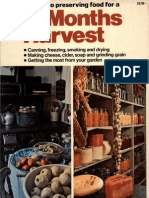 12 Months Harvest, A Guide to Preserving Food by Ortho Books