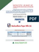Bashundhara Paper Mills Ltd. 05.04.2018