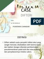 Case Difteri