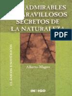 Los Admirables y Maravillosos Secretos de La Naturaleza (Alberto)