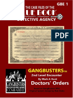 Gangbusters - GBE1 Doctor's Orders