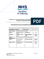 Guidelines for Cleaning Disinfection and Sterilisation of Patient Care Equipment Staff Responsibilities