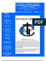October 17, 2010 Bulletin