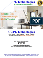 Best ERP SAP Course Training Institute in Delhi NCR FICO Module Syllabus- UCPL Technologies