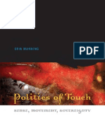 Manning, Erin -Politics of Touch