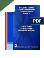 BULTEK SAP NOMOR 18 TAHUN 2015 TENTANG AKUNTANSI PENYUSUTAN BERBASIS AKRUAL.pdf