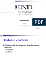 Semana I Informatica Administrativa