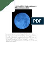 Ritual de Luna Azul