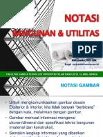 Gambar-Teknik-Notasi Bangunan Dan Utilitas