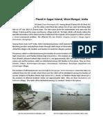 A Short Report on Flood Situation in Sagar Island