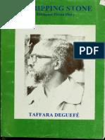 A Tripping Stone _ Ethiopian Prison Diary - Taffara Deguefe, 1926