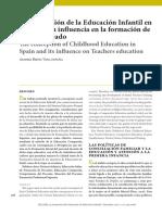 Evolucion Historica Educacion Infantil