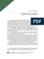 Art. D'Agostino - La Teologia Della Storia
