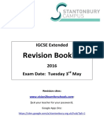 English IGCSE Extended Revision Guide Year 12