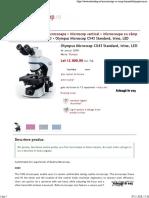 Olympus Microscop CX43 Standard, Trino, LED