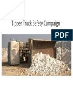 Tipper Truck Safety Campaign