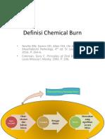 Definisi Chemical Burn