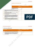 Corporate Governance Assessment Template