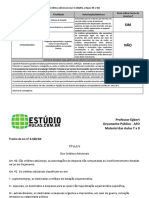 Apostila 002 - Créditos Adicionais