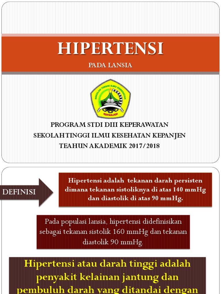 Ppt Hipertensi Komunitas